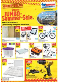Promos et remises Jumbo Maximo Allmendingen b. Bern : Grosser Jumbo Sommer Sale