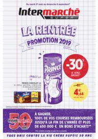 Prospectus Intermarché Super Nanterre : LA RENTREE PROMOTION 2019