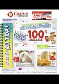 Prospectus Supermarchés Casino PANTIN : Catalogue Casino Supermarchés
