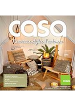 Prospectus Casa : Nouveaux styles d'automne - CHFR