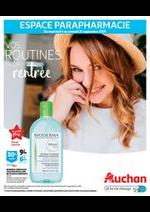 Prospectus Auchan drive : Vos routines de la rentrée