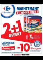 Promos et remises Carrefour : Maintenant et moins cher !