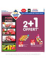 Promos et remises Leader Price : 2+1 Offert
