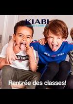 Catalogues et collections Kiabi : Rentrée des classes !