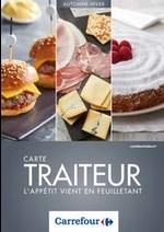 Prospectus Carrefour : Carte Traiteur Automne/Hiver