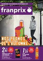 Prospectus Franprix : Nos promos de l'automne