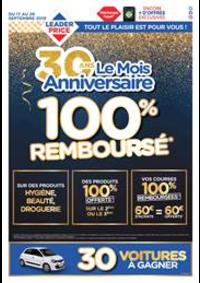 Bons Plans Leader Price Chaumont : 100% Remboursé