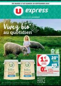 Prospectus U Express PARIS - Q. JEMMAPES : VIVEZ BIO AU QUOTIDIEN