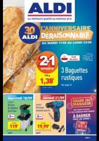 Prospectus Aldi Chaumont : Anniversaire déraisonnable