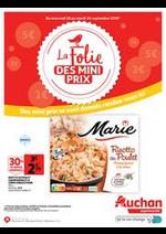 Prospectus Auchan Supermarché : La folie des mini prix