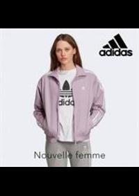 Prospectus Adidas Originals store le Marais : Nouvelle Femme