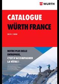 Prospectus Wurth SAUSHEIM : Catalogue Würth 2019/2020
