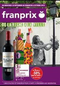 Prospectus Franprix PARIS 16 rue Bertin-Poirée : De la vigne a la ville