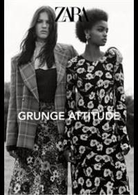 Prospectus ZARA PARIS 30 PLACE D'ITALIE : Zara Grunge attitude