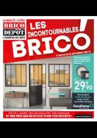 Prospectus Brico Dépôt FLEURY MEROGIS - STE GENEVIEVE DES BOIS : LES INCONTOURNABLES BRICO