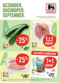 Promos et remises Supermarché Delhaize Sint-Truiden : Folder Delhaize