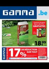 Promos et remises GAMMA JUMET : Gamma Acties