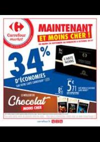 Prospectus Carrefour Market COLOMBES : Maintenant et moins cher !
