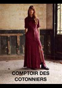 Prospectus Comptoir des cotonniers Evry Galeries Lafayette CC Evry II boulevard de l'Europe : Lookbook Automne Hiver 19