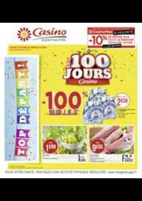 Prospectus Supermarchés Casino PARIS 77 Rue de Flandre : Les 100 jours Casino