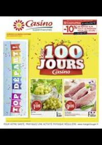 Prospectus Supermarchés Casino CLICHY 101 boulevard Jean Jaurès : Les 100 jours Casino
