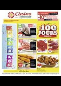 Prospectus Supermarchés Casino PARIS 27- 31 rue de Bagnolet : Les 100 jours Casino