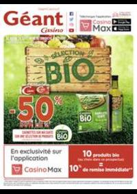 Prospectus Géant Casino SAINT MICHEL SUR ORGE : Sélection Bio
