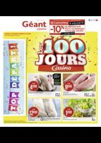 Prospectus Géant Casino SAINT DOULCHARD : Les 100 jours Casino