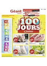 Prospectus Géant Casino : Les 100 jours Casino