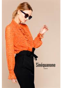 Prospectus Sinequanone Paris 9eme : Nouvelle Collection