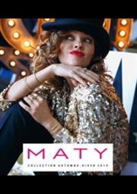 Prospectus Maty PARIS : Automne Hiver 2019/2020