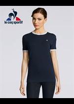 Prospectus Le Coq Sportif : T-Shirt Femme