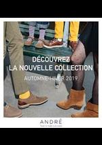 Prospectus André : Nouvelle Collection