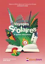 Promos et remises  : Voyages Scolaires & sorties éducatives 2019-2020