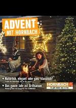 Prospectus Hornbach : Advent Mit Hornbach