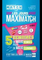 Promos et remises  : Les jours supermarché Maximatch