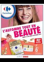 Prospectus Carrefour : L'Automne tout en Beauté