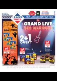 Prospectus Leader Price Domont : Le grand live des marques