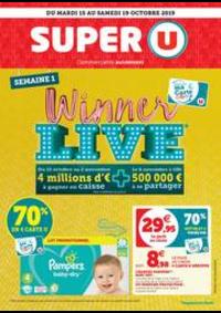 Prospectus Super U : SEMAINE 1 WINNER LIVE