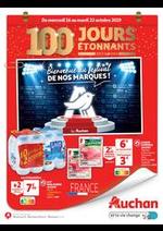 Prospectus Auchan : 100 jours étonnants avant 2020