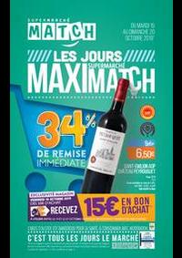Prospectus Supermarchés Match Maubeuge : Les jours supermarché Maximatch