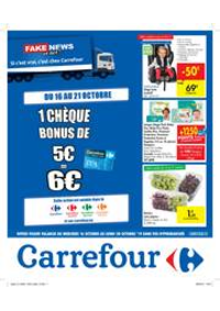 Promos et remises Carrefour FLEMALLE : Fake news or not?