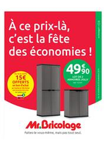 Bons Plans Mr Bricolage : Catalogue Mr Bricolage