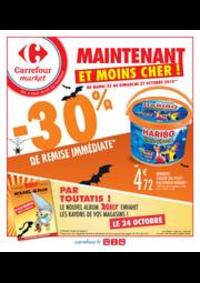Promos et remises Carrefour Market NOISY LE SEC : Spécial Halloween