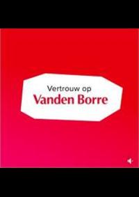 Prospectus Vanden Borre GOSSELIES : Best Prijs