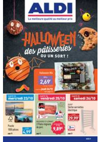 Prospectus Aldi Avon : Halloween des pâstisseries ou un sort!