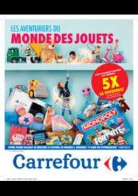 Prospectus Carrefour MARCHE : Les aventuriers du monde des jouets
