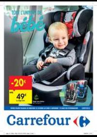 Prospectus Carrefour MARCHE : Tout l'univers de bébé