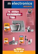 Prospectus Melectronics : Die günstigen Küchenhelfer- Tage.