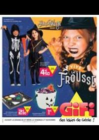 Prospectus Gifi SAVIGNY LE TEMPLE : Halloween 2019